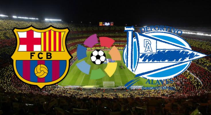 Alaves vs Barcelona Live Stream